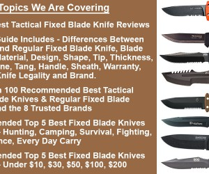 Best Tactical Fixed Blade Knife 2017  Reviews  Buyers Guide