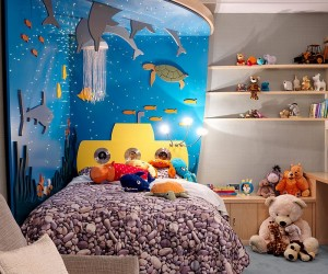 Beyond Paint: 30 Inventive Ways to Add Color to the Kids Bedroom