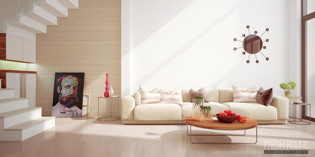 elegant modern style sofas image white living room black sofa | Beyond White: Bliss of Soft and Elegant Beige Living Rooms