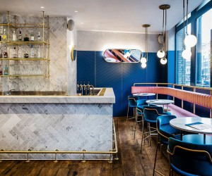 Biasol Converts 1870s Warehouse into Restaurant and Cocktail Bar in Clerkenwell, London