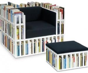 Bibliochaise Bookshelf Chair