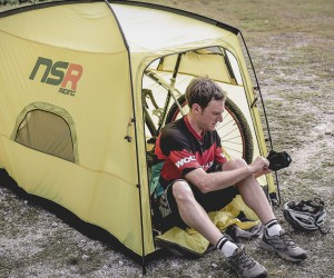 Bicycle Tour Camping Tent