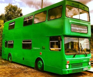 Big Green Bus Hotel in UK