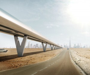 BIG reveals Hyperloop One autonomous transportation system