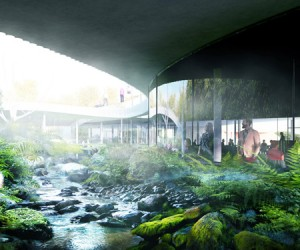 BIG Unveils Panda House For Copenhagen Zoo
