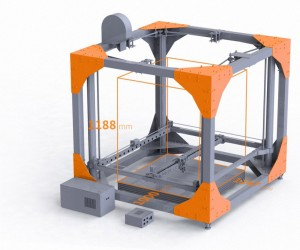 BigRep proposes a new 3D printer. Print your furniture