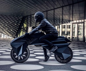 BigReps NERA: Worlds First Fully 3D Printed e-Motorcycle