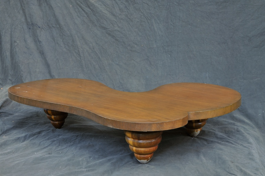 Billy Haines Style Biomorphic Coffee Table