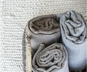 Binchotan Baby Blanket