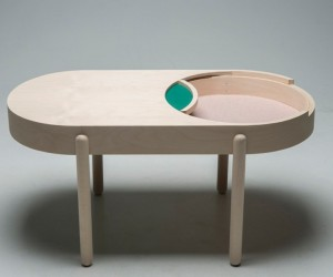 BIRK: The Domino Box-Inspired Coffee Table