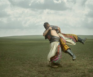 Bkh: Wrestlers of Inner Mongolia by Ken Hermann  Gem Fletcher