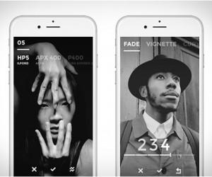 Black   BW Photography Emulator App
