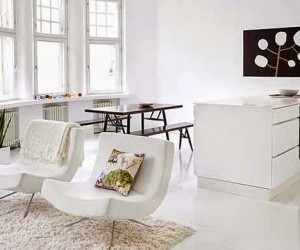 Black and White Interior by Susanna Vento