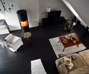 Black & White Loft in Stockholm