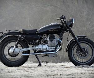 Black Betty Moto Guzzi Strada