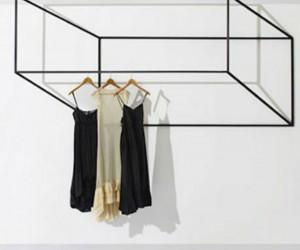 Black Wings: 3-D Clothing Rack