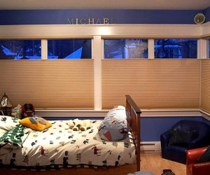 Blackout Blind for Nursery by Night  Day Window Decor