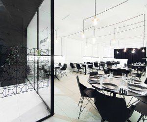 Blanc i Negre Bar Restaurant by Ramn Esteve Estudio