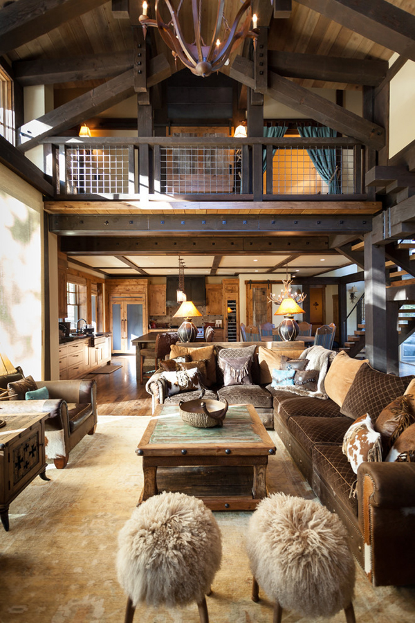 Blending Texas Style With Mountain Rustic In Tahoe Austin