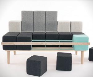 Blocd Sofa by Scott Jones
