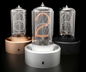 Blub Keo - A supersized USB powered nixie tube clock.