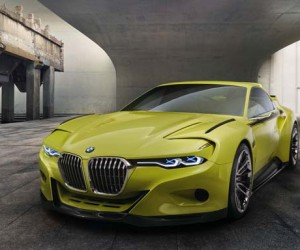 BMW 3.0 CSL Hommage concept car unveiled at Concorso dEleganza Villa dEste