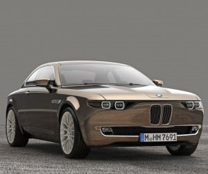BMW CS Vintage concept car by David Obendorfer