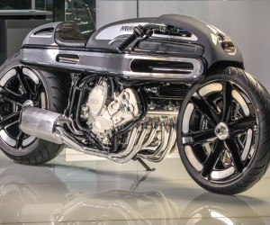 BMW K1600 by Krugger Motorcycles is a pure beast