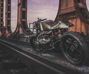 BMW R100 Custom Motorcycle By Nozem Amsterdam