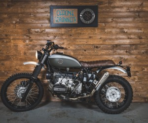BMW R100GS Elegant Escape by Officine Sbrannetti