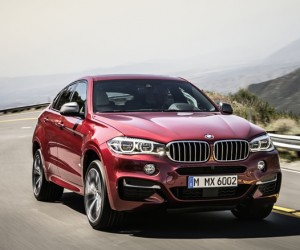 BMW Unveils 2105 X6 Sports Activity Coupe
