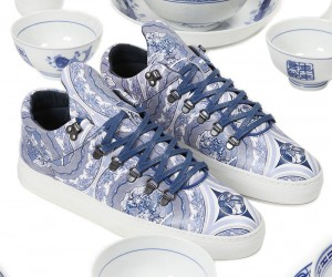 Bodega x Filling Pieces Launch Sneaker That Looks Like Chinese Pottery