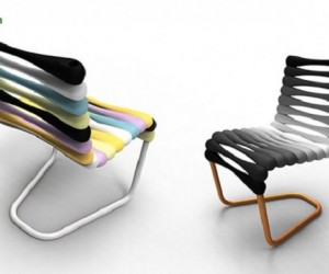 Boing: Stackable Q-Tip Chair