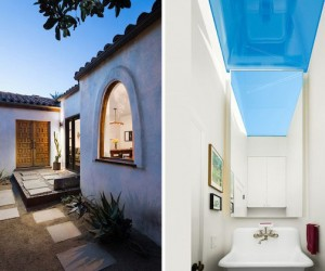 Transformed | 1930′S Rustic Spanish Colonial Home in LA