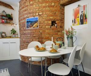 Bold Scandinavian Design in a 57 sqm Apartment