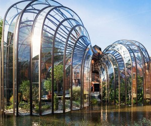 Bombay Sapphires Sustainable Distillery.