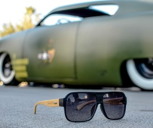 Bombers Polarized Bamboo Sunglasses by Johnny Fly