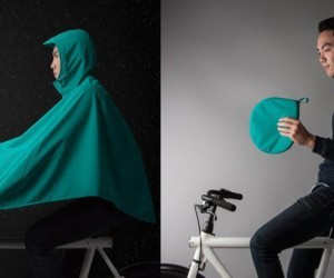 Boncho: The Ultra Breathable Bike Poncho
