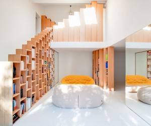 Bookshelf House by Andrea Mosca