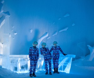 BOOOM 25th ICEBAR for ICEHOTEL