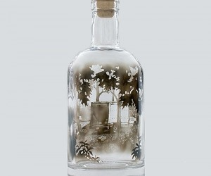 Bottled Smoke Art by Jim Dingilian