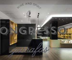 Bottles Congress store in Braga by Tiago do Vale Arquitectos