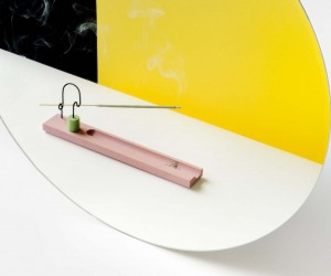 Bow Incense Burner by Greg Papove