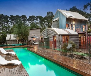 Bower House: Energy-Efficient Beach Style Retreat with Modern Cottage Vibe