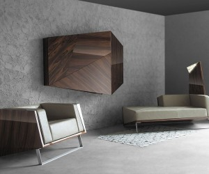 BOXETTI / MO: Scintillating Decor Transforms your Home with Dynamic Cubism