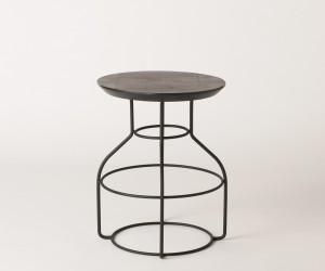 Bradley Hooper Stool by Dowel Jones