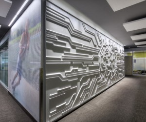 Brain Wall textured panels by Soelberg Industries