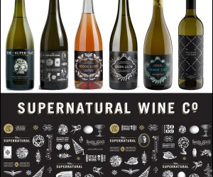 Branding and Design for the Supernatural Wine Company
