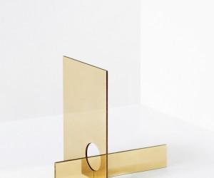 Brass Mirror Series by Falke Svatun
