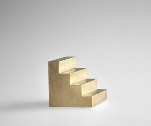 Brass Staircase Paperweight by Yong-soo Son